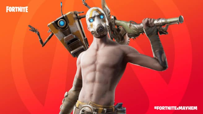 Fortnite Borderlands